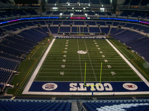 Colts new field with retractable roof