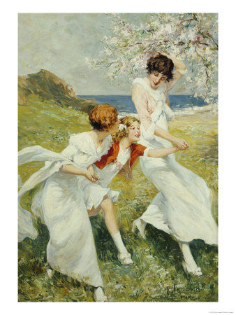 A Spring Day By The Seashore by Art.com